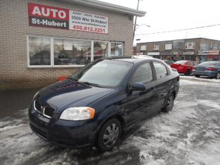 Used 2009 Pontiac Wave for sale in St-Hubert, QC