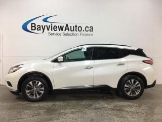 Used 2015 Nissan Murano SV - AWD! PANOROOF! NISSAN CONNECT! HTD SEATS! REMOTE START! ALLOYS! for sale in Belleville, ON