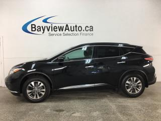Used 2015 Nissan Murano - NISSAN CONNECT! REVERSE CAM! HTD SEATS! ALLOYS! for sale in Belleville, ON