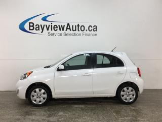 Used 2016 Nissan Micra SV - BLUETOOTH! A/C! CRUISE! PWR GROUP! for sale in Belleville, ON