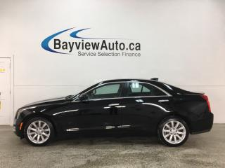 Used 2017 Cadillac ATS 2.0L Turbo - AWD! ONSTAR! WIFI! APPLE CARPLAY! ANDROID AUTO! HTD LTHR! ALLOYS! for sale in Belleville, ON