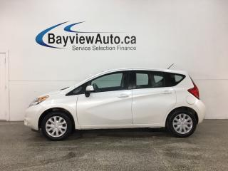 Used 2014 Nissan Versa Note 1.6 SV - 5SPD! BLUETOOTH! A/C! CRUISE! PWR GROUP! for sale in Belleville, ON
