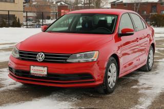 Used 2015 Volkswagen Jetta 2.0L Trendline+ Bluetooth | AC | CERTIFIED for sale in Waterloo, ON