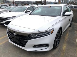 New 2019 Honda Accord Sport 2.0T for sale in Vancouver, BC