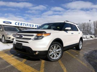Used 2015 Ford Explorer Limited 4WD|HEATED FRONT SEATS|TECHNOLOGY PACKAGE|ACTIVE PARK ASSIST|SYNC for sale in Barrie, ON
