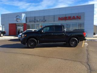 Used 2018 Nissan Titan Crew Cab SV Midnight Edition for sale in Smiths Falls, ON