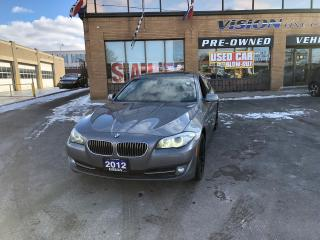 Used 2012 BMW 528 i i xDrive (A8)NAVIGATION/SUNROOF/B UP CAMS for sale in North York, ON