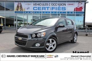 Used 2016 Chevrolet Sonic LT for sale in St-Léonard, QC