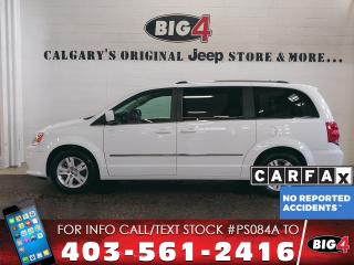 Used 2015 Dodge Grand Caravan Crew Plus | Leather | Sunroof | Pwr Sliders for sale in Calgary, AB