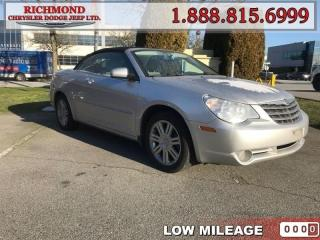 Used 2008 Chrysler Sebring Limited  for sale in Richmond, BC