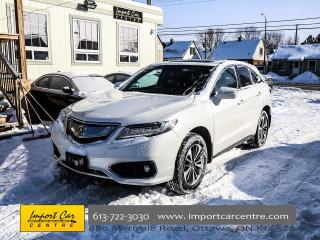 Used 2016 Acura RDX Elite Pkg NAV BLIS HEAT&COOLED SEATS WOW!! for sale in Ottawa, ON