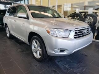 Used 2010 Toyota Highlander LIMITED, HEATED STEERING, NAVI, REAR VIEW CAMERA, SUNROOF for sale in Edmonton, AB