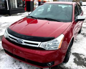 Used 2009 Ford Focus SEL Sedan for sale in St. Catharines, ON