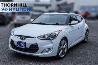 Used 2016 Hyundai Veloster Tech  - Low Mileage for sale in Thornhill, ON