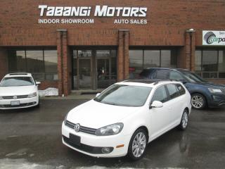 Used 2013 Volkswagen Golf Wagon HIGHLINE | NO ACCIDENT | NAVIGATION | LEATHER | SUNROOF | for sale in Mississauga, ON