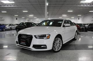 Used 2016 Audi A4 S-LINE I QUATTRO I LEATHER I SUNROOF HEATED SEATS I BT for sale in Mississauga, ON