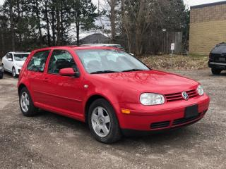 Used 2001 Volkswagen GTI 2DR GLS Turbo MINT|MANUAL|ONE OWNER|SUNROOF| APPOINT.ONLY for sale in Newmarket, ON