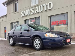 Used 2011 Chevrolet Impala 4dr Sdn Police Pkg for sale in Hamilton, ON