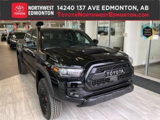 New 2019 Toyota Tacoma 4X4 Double Cab V6 | TRD PRO (SHORT BOX) for sale in Edmonton, AB
