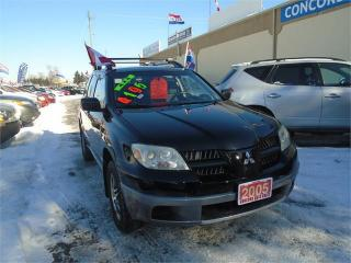 Used 2005 Mitsubishi Outlander LS for sale in Breslau, ON