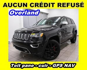 Used 2017 Jeep Grand Cherokee Overland 4x4 Dark for sale in St-Jérôme, QC