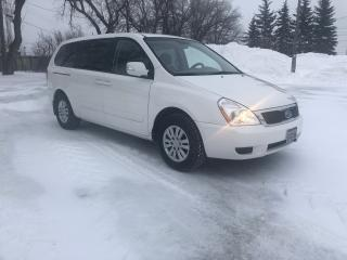 Used 2011 Kia Sedona LX Convenience New Tires & Brakes! 3.5L V6 Very Clean for sale in Winnipeg, MB