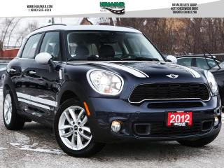 Used 2012 MINI Cooper Countryman S Automatic Sunroof Bluetooth for sale in North York, ON