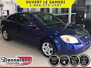 Used 2007 Chevrolet Cobalt LT 2 PORTES ***PNEUS HIVER***BAS MILLAGE for sale in Donnacona, QC