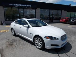 Used 2013 Jaguar XF SUPERCHARGED AWD ** 77 000 KM CERTIFIÉ * for sale in St-Hubert, QC