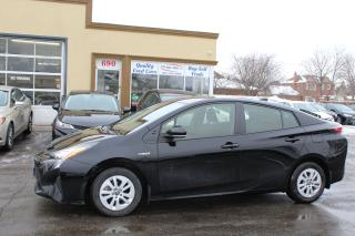 Used 2018 Toyota Prius Hybrid for sale in Brampton, ON