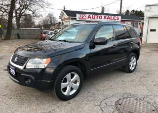 Used 2010 Suzuki Grand Vitara JLX/Certified/Automatic/4x4/Sunroof/Accident Free for sale in Scarborough, ON