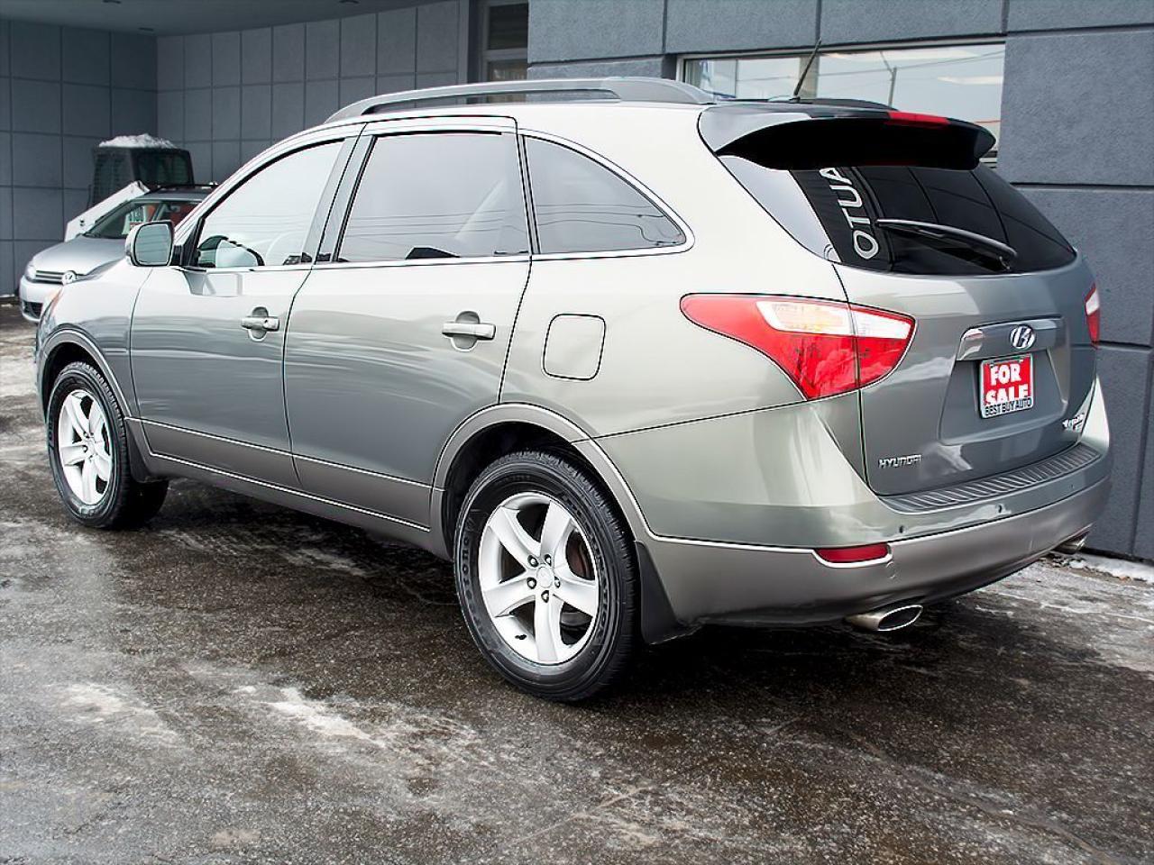 2009 Hyundai Veracruz GLS 7 SEATS LEATHER SUNROOF ALLOYS