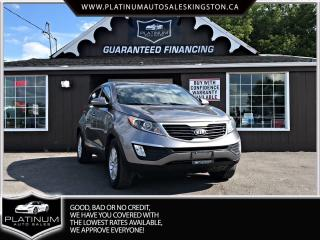 Used 2013 Kia Sportage LX for sale in Kingston, ON