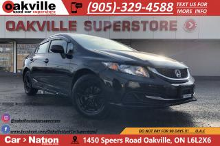 Used 2013 Honda Civic LX | HEATED SEATS | BLUETOOTH | REMOTE START for sale in Oakville, ON