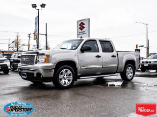 Used 2008 GMC Sierra 1500 SLE Crew Cab 4x4 ~ONLY 140,000 KM ~Trailer Tow for sale in Barrie, ON