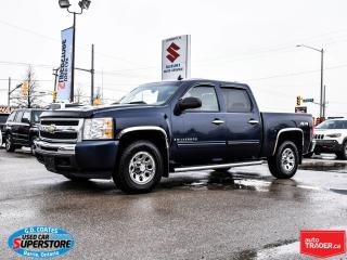 Used 2009 Chevrolet Silverado 1500 LS Cheyenne Edition Crew Cab 4x4 ~Trailer Tow for sale in Barrie, ON