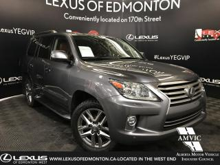 Used 2015 Lexus LX 570 EXECUTIVE PACKAGE for sale in Edmonton, AB
