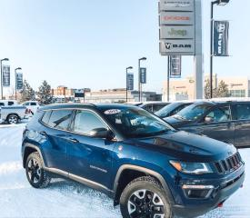 Used 2018 Jeep Compass Trailhawk for sale in Cold Lake, AB
