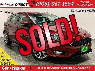 Used 2015 Ford Focus SE| BACK UP CAMERA| HEATED SEATS| for sale in Burlington, ON