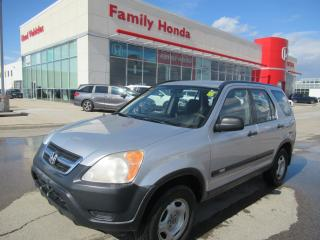 Used 2003 Honda CR-V LX, GREAT CONDITION!! for sale in Brampton, ON