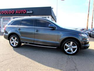Used 2011 Audi Q7 3.0T S-Line Quattro NAVIGATION DVD CAMERA CERTIFIED 2YR WARRANTY for sale in Milton, ON