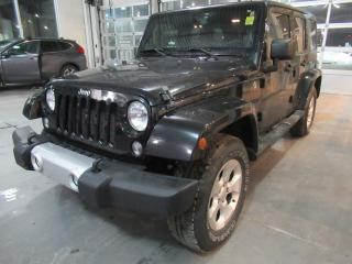 Used 2014 Jeep Wrangler Unlimited Sahara for sale in Brampton, ON