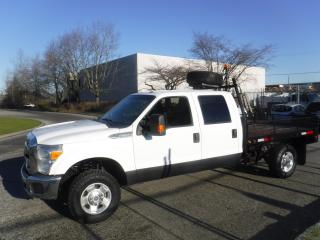 Used 2012 Ford F-350 SD Crew Cab 8 Foot Flat Deck 4WD for sale in Burnaby, BC