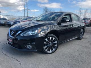 Used 2017 Nissan Sentra 1.6 SR Turbo| New Tires| Local Trade!| Leather for sale in St Catharines, ON