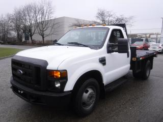 Used 2008 Ford F-350 SD XL Dually 2WD 9.3 foot Flat Deck Tilt Deck for sale in Burnaby, BC