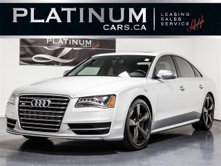 Used 2013 Audi S8 4.0T QUATTRO, 520HP AWD, NAVI, BLINDSPOT, Carbon for sale in Toronto, ON