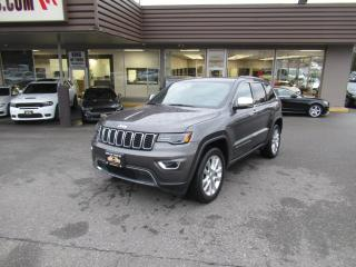 Used 2017 Jeep Grand Cherokee Limited for sale in Langley, BC
