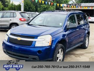 Used 2007 Chevrolet Equinox LS AWD for sale in Kelowna, BC