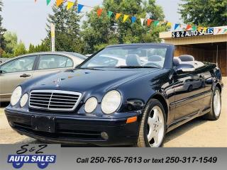 Used 2002 Mercedes-Benz CLK CONVERTIBLE for sale in Kelowna, BC