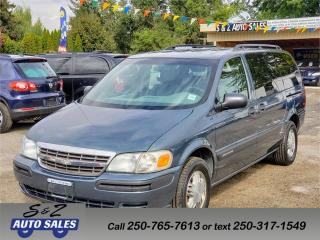 Used 2004 Chevrolet Venture LS for sale in Kelowna, BC